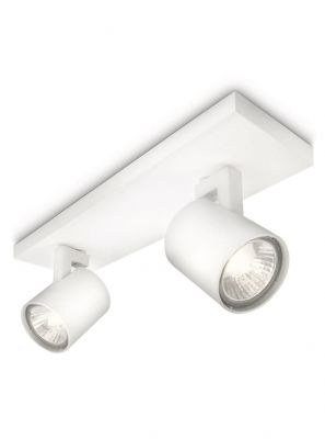 Philips myLiving Dender LED 2 x Spot - Hvid