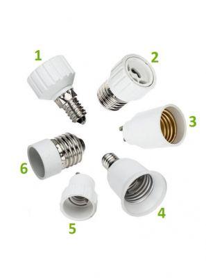 Sokkel adapter - Fatnings adapter