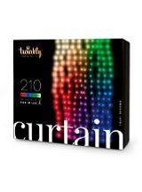 Twinkly Curtain Lyskæde - RGBW - 210 lys