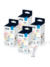 WiZ GU10 Color & Tunable Whites - WiFi - 4 pak
