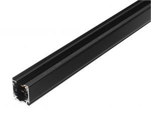 GLOBAL 3-Faset XTS4200-2 - Skinne 2 meter - Sort