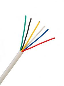 10m RGBCW ledning (6 leder)