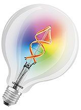 LEDVANCE SMART+ WiFi - E27 Color Globe - Klar