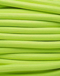 Neon lime stofledning