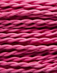 Pink snoet stofledning