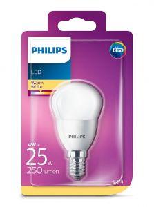 E14 - Philips LED Pære 4W - 250lm (Lyskilder)