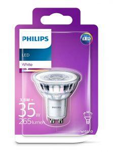 GU10 - Philips LED Spot 3.5W - 265lm (Lyskilder)