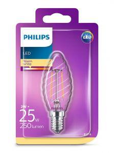 E14 - Philips LED Pære 2W - 250lm (Lyskilder)