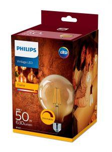 E27 - Philips LED Pære 8W - 630lm (Lyskilder)