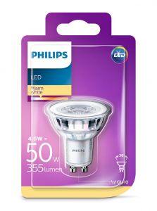 GU10 - Philips LED Spot 4.6W - 355lm (Lyskilder)