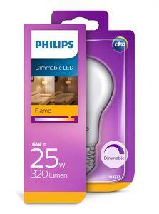 E27 - Philips LED Pære 6W - 320lm (Lyskilder)