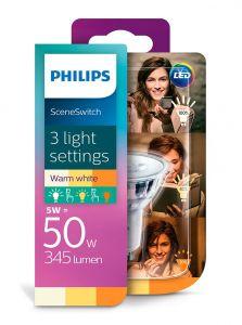 GU10 - Philips LED Spot 1.5-3.5-5W - 345lm (Lyskilder)