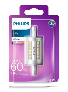 R7S - Philips LED Pære 7.5W - 950lm (Lyskilder)