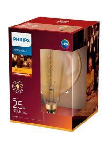 E27 - Philips LED Pære 5W - 300lm (Lyskilder)