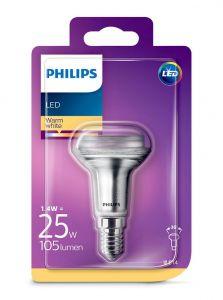 E14 - Philips LED Spot 1.4W - 125lm (Lyskilder)