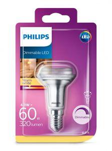 E14 - Philips LED Spot 4.3W - 390lm (Lyskilder)