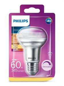 E27 - Philips LED Spot 4.5W - 345lm (Lyskilder)