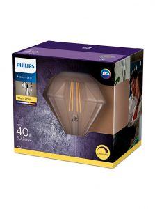 E27 - Philips LED Pære 5W - 500lm (Lyskilder)