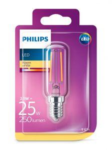E14 - Philips LED Pære 2.1W - 250lm (Lyskilder)
