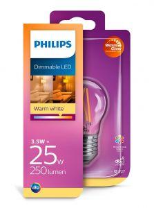 E27 - Philips LED Pære 3.5W - 250lm (Lyskilder)