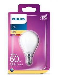 E14 - Philips LED Pære 6.5W - 806lm (Lyskilder)
