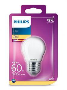 E27 - Philips LED Pære 6.5W - 806lm (Lyskilder)
