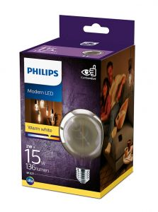E27 - Philips LED Pære 2W - 136lm (Lyskilder)