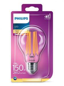 E27 - Philips LED Pære 17W - 2452lm (Lyskilder)