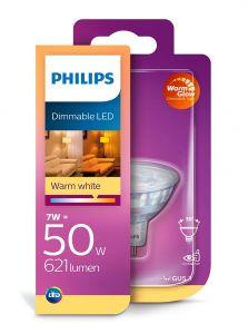 GU5.3 - Philips LED Spot 7W - 621lm (Lyskilder)