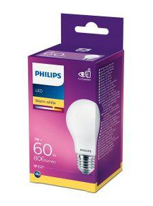 E27 - Philips LED Pære 7W - 806lm (Lyskilder)