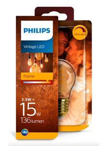 E27 - Philips LED Pære 3.5W - 136lm (Lyskilder)