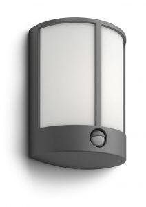 Philips myGarden Stock Væglampe LED Antracit m. sensor