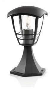 Philips myGarden Creek Stander-/søjlelampe lav Sort