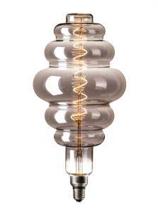 Calex XXL Paris LED lampe - Titanium - 6W