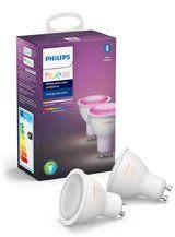 Philips Hue Color LED spot - GU10 - 2-PACK - BT