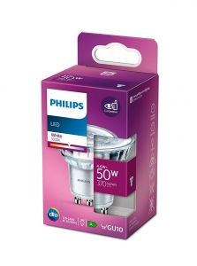 GU10 - Philips LED Spot 4.6W - 370lm