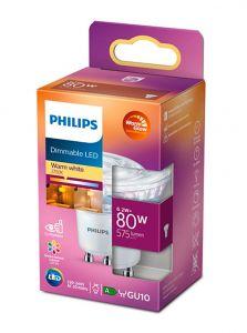 GU10 - Philips LED Spot 6.2W - 575lm