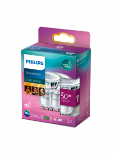 GU10 - Philips SceneSwitch LED Spot - 2 pak