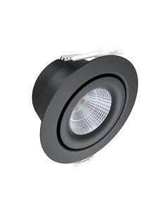 HiluX D3 Gen2 LED Spot 4,2W - Ra97 - 410LM - 2700K - Sort Udendørs
