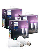 Philips Hue Color LED pære - E27 - 6-pak