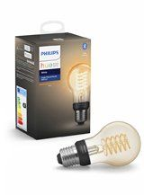 Philips Hue LED pære - E27 Filament Spiral - Bluetooth smart pære - A60