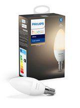 Philips Hue White LED pære - E14 Kerte - Bluetooth smart pære