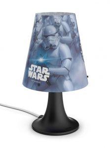 Philips Star Wars LED Stormtrooper bordlampe - m. kabel