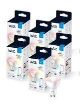WiZ GU10 Color & Tunable Whites - WiFi - 6 pak