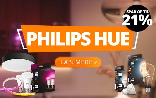 Philips Hue - op til 21% rabat