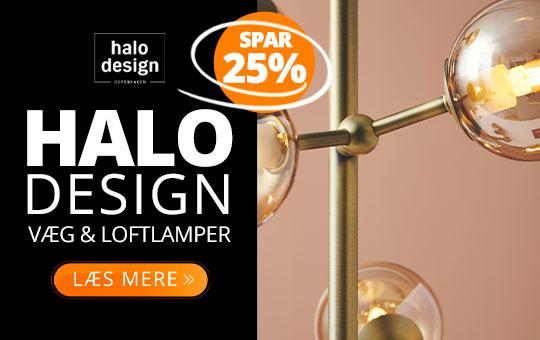 Halo Design væg- og loftlamper